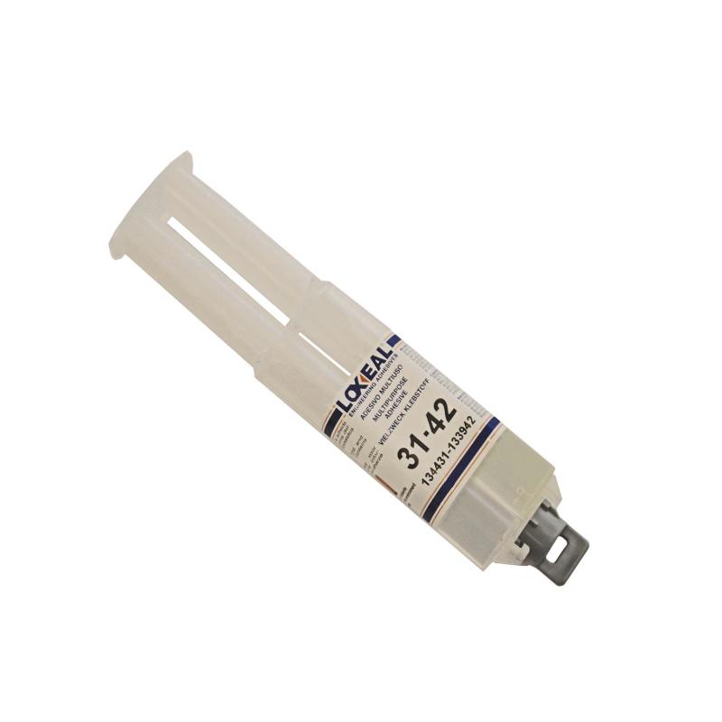 Adhesivo epoxy bicomponente Loxeal 31-42 en jeringa de 25 ml