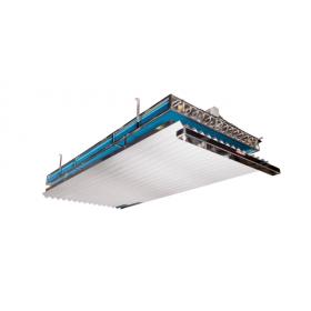 Persiana PVC doble canal nº18 standard para evaporador estático