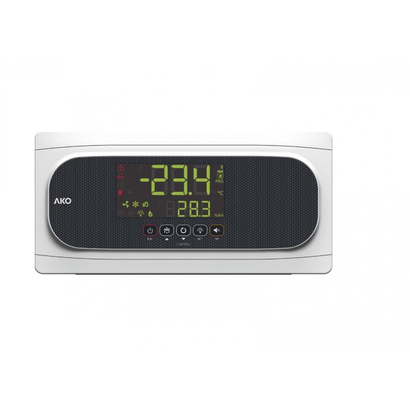 Controlador temperatura para cámaras con protección - Magnetotérmica AKO-16523P