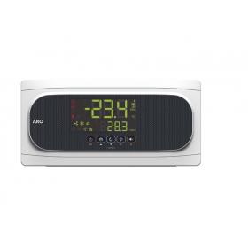 Controlador avanzado de temperatura para la optimización de cámaras frigoríficas + módulo CAMM AKO-16524A