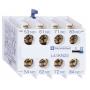 Bloque de contacto Schneider Electric 2 NA + 2 NC (Frontal) LA1KN22