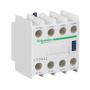 Bloque de contacto Schneider Electric 3 NA + 1 NC (Frontal) LADN 31