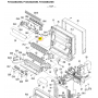 Motor lama horizontal superior unidad interior split DAIKIN FVXS25BAVMB