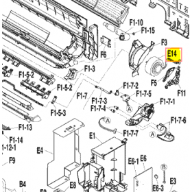 MOTOR VENTILADOR UNIDAD INTERIOR FTXS25G2V1B
