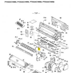 MOTOR VENTILADOR UNIDAD INTERIOR DAIKIN FTXS35CVMB8 4016279