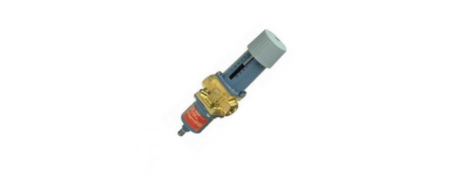 Válvula Presostática reguladora del caudal de agua de condensación DANFOSS